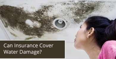 Can Insurance Cover Water Damage?