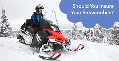 Should You Insure Your Snowmobile?