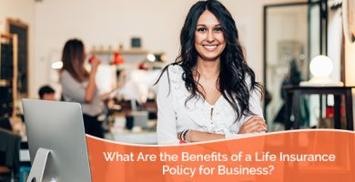 Lady entrepreneur talks about business insurance policy