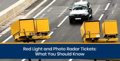 Can photo radar tickets affect my auto insurance?
