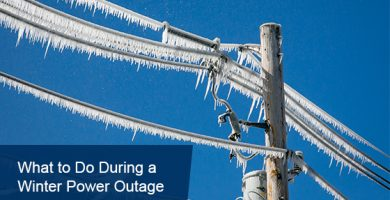 Winter power outage tips and hacks